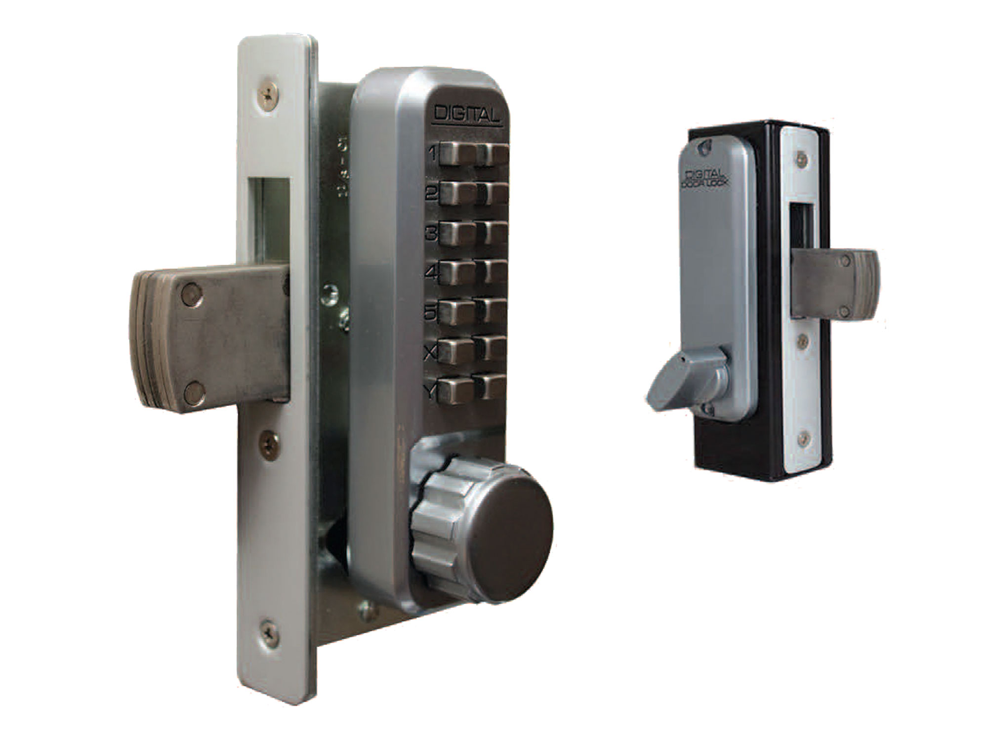 Lockey 2900 Narrow-Stile Knob-Handle Keypad Deadbolt  Lock