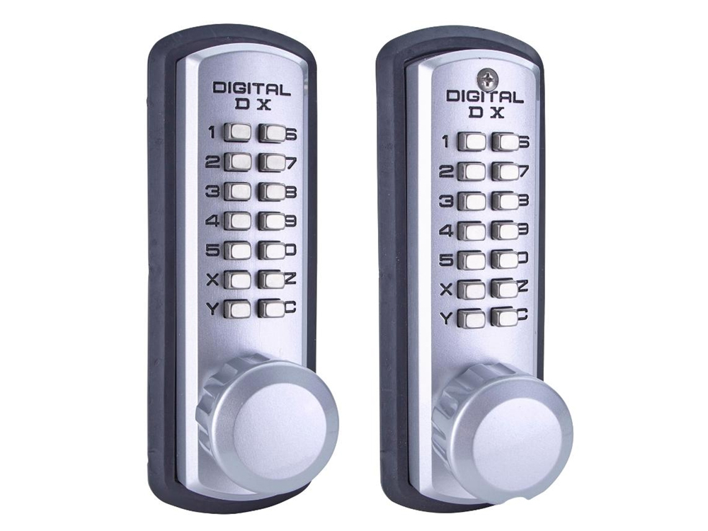 Lockey 3210DC Marine-Grade Heavy-Duty Deadbolt Double-Keypad Lock