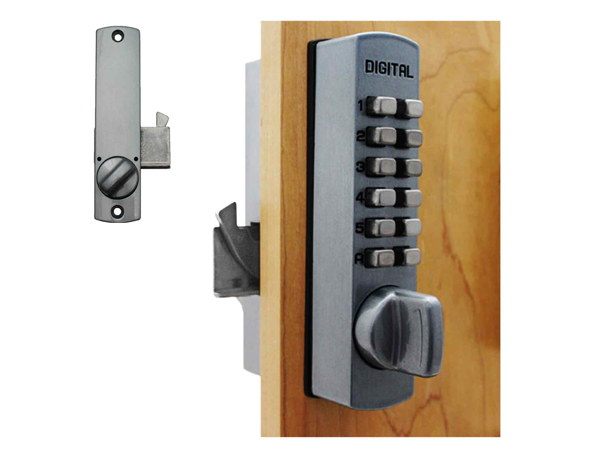 Lockey C150 Surface-Mount Cabinet Hookbolt Keypad Lock