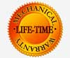 Life-Time Mechanical Warranty